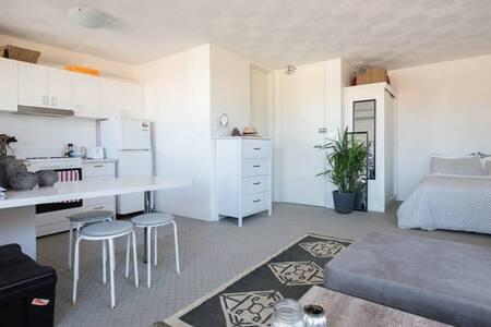 Beautiful, light studio in Bondi Beach. - 邦迪海滩 - 公寓