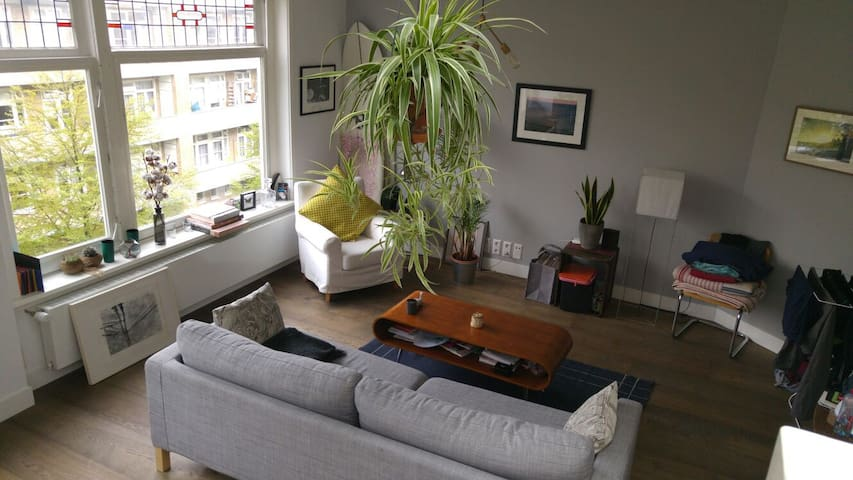 Bright & quiet flat with a terrace - Amsterdam - Apartemen