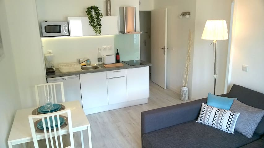 Nice and peaceful flat, ideal location - Saint-Médard-en-Jalles - Apartemen
