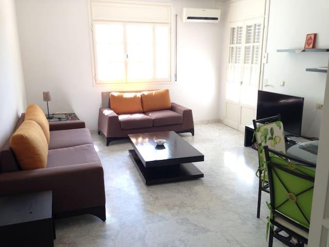 Appartement cosy S+2 à la Soukra - Dar Fadhal - Apartment