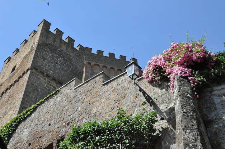Castello Viterbese - Viterbese 3, sleeps 3 guests - Proceno - ปราสาท
