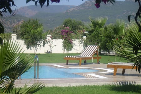 Villa with private pool, garden, transfers & car - Dalyan Belediyesi