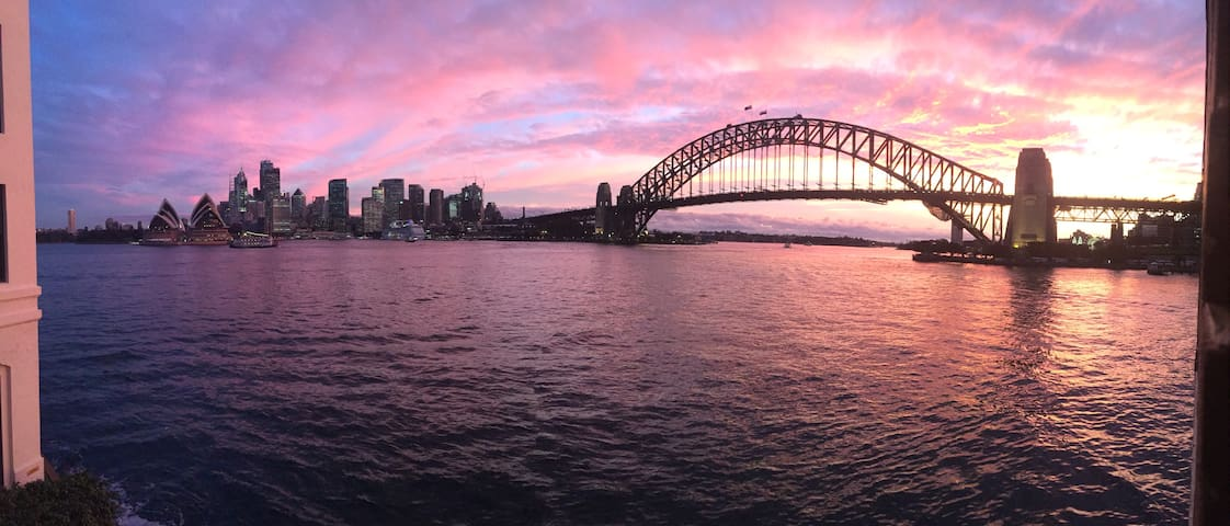 Sydney Harbour Absolute Waterfront Perfection - Kirribilli - Daire