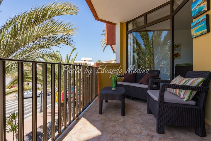 Apartment 250 m from the beach