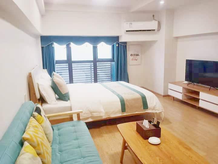 兆阳O立方复式分层独立空间公寓,近地铁朝安站
