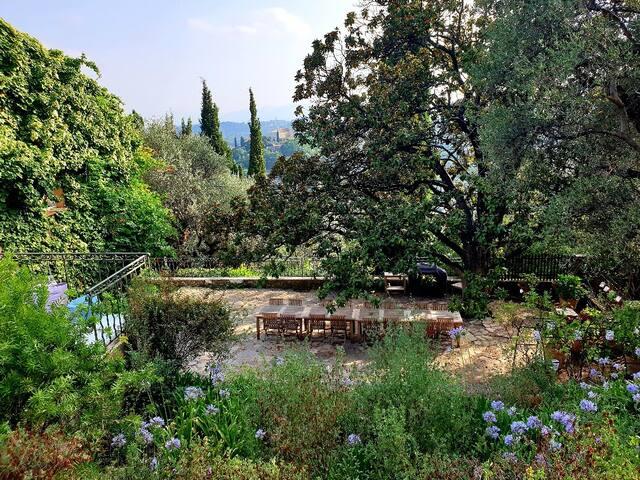 App.Picasso, 120sqm terrace, Pool&Parc,Yoga & Golf