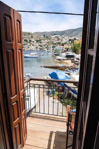 nice view near to  the  harbour - Ano Symi - Appartement