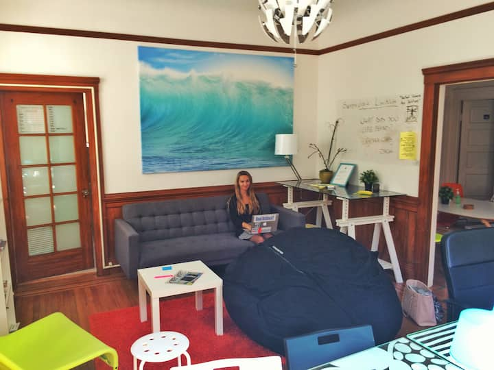 Awesome villa for change makers in North Beach.