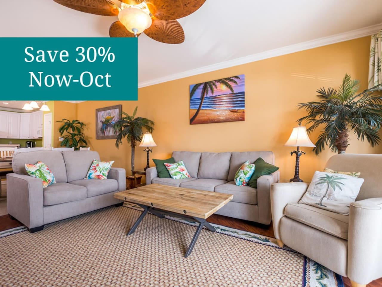 Rates Reduced through October