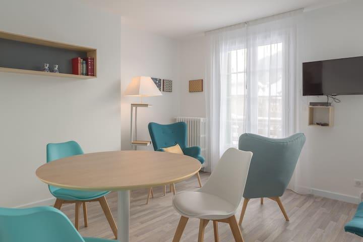 Studio rénové avec balcon - Saint-Pierre-de-Chartreuse - Lejlighed