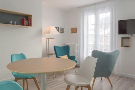 Studio rénové avec balcon - Saint-Pierre-de-Chartreuse - 公寓