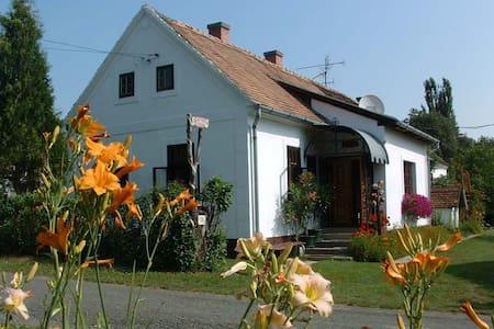 Cserépmadár szállás Teljes önálló vendégház - Velemér