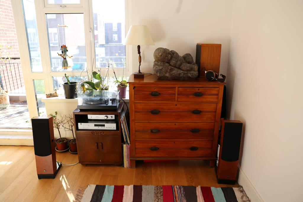 Our beloved HiFi system, to be handled with care :)