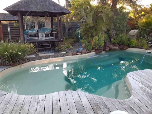 Belle maison pour vacances au soleil