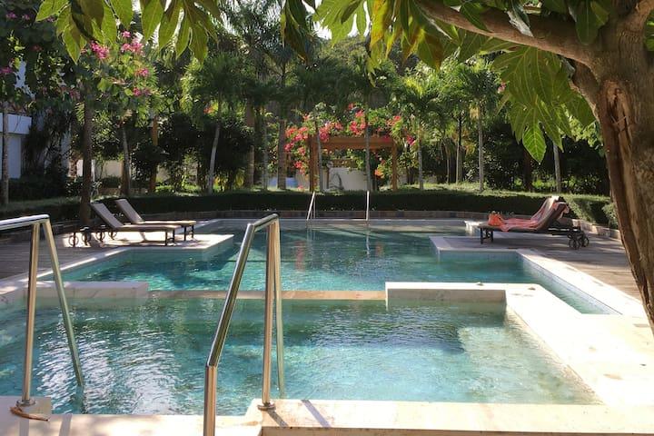 Luxury 2 bedroom haven in Las Terrenas - Las Terrenas - Condo