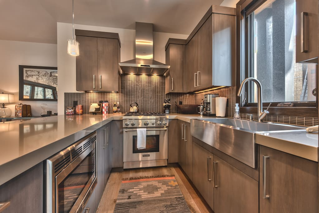 Kitchen featuring Thermador appliances