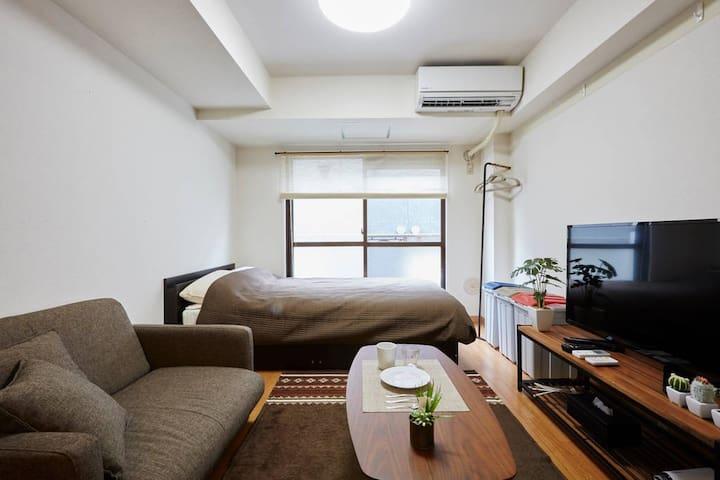 #2【LICENSED】房源位于道玄坂后面,从涩谷车站步行仅5分钟!还附带随身WIFI
