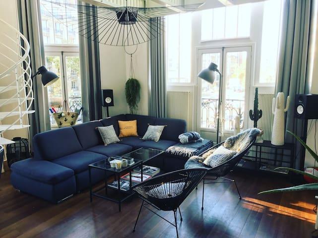 Luxury Loft in the center of Paris 70m²