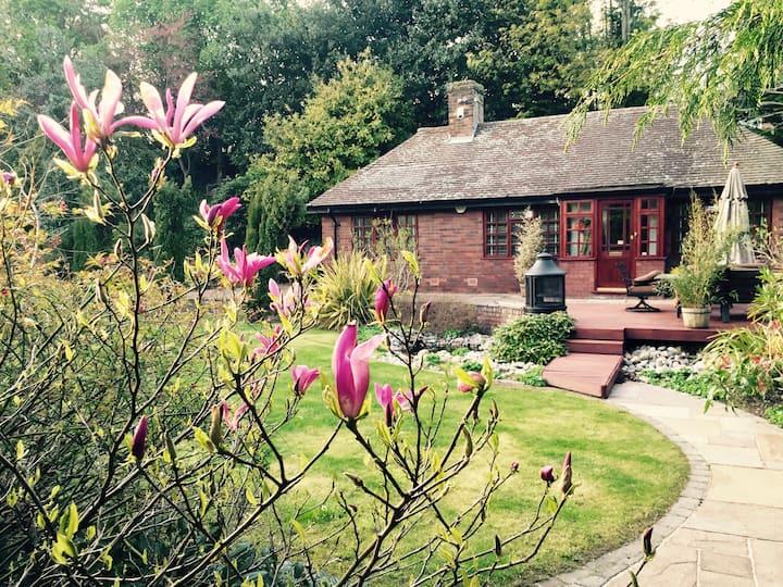Titanic's coachman's lodge, set in serene gardens