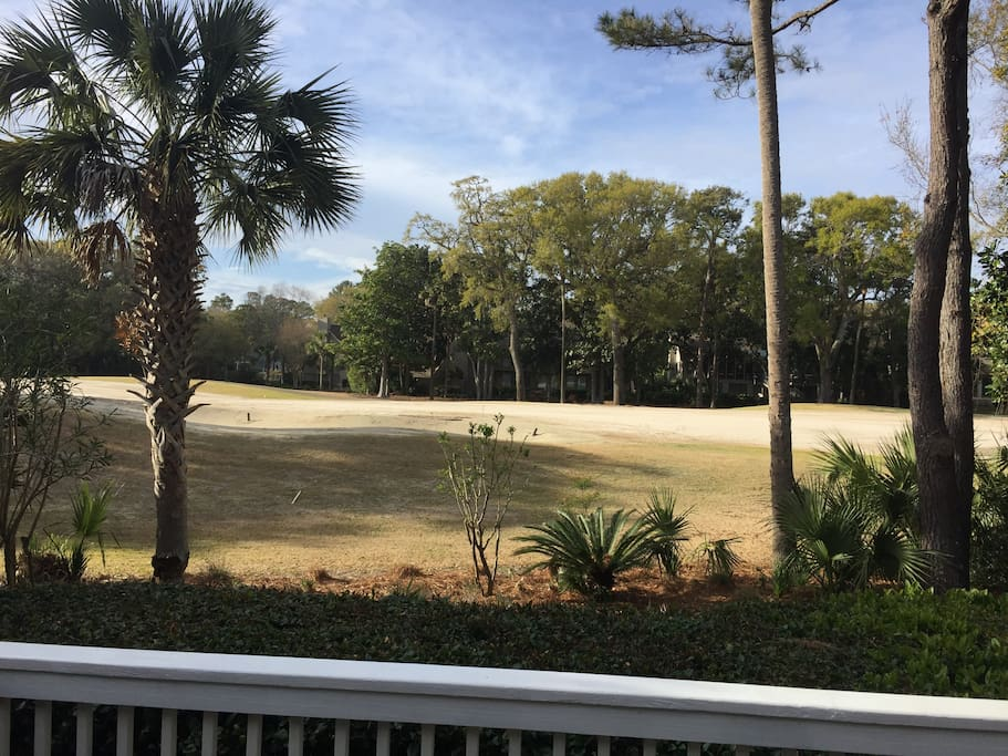 Back Yard view of Golf Course