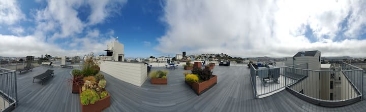 Modern 2bd 1ba apartment Potrero Hill Furnished
