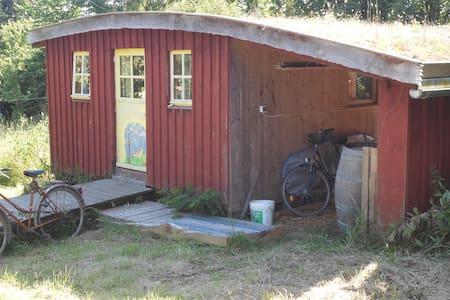 ancienne cabine de pont d'un trois mats - Crozon
