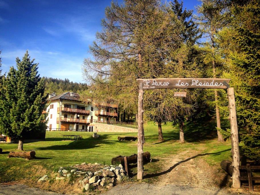The Alpine Village 'Le Pleiadi'