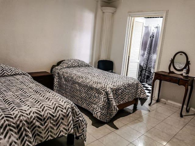 Disponibles dos camas individuales