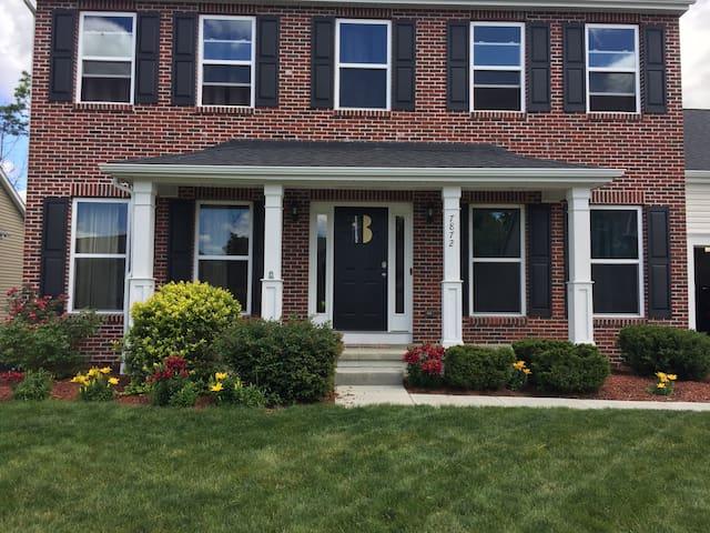 Upscale home in Columbus suburb