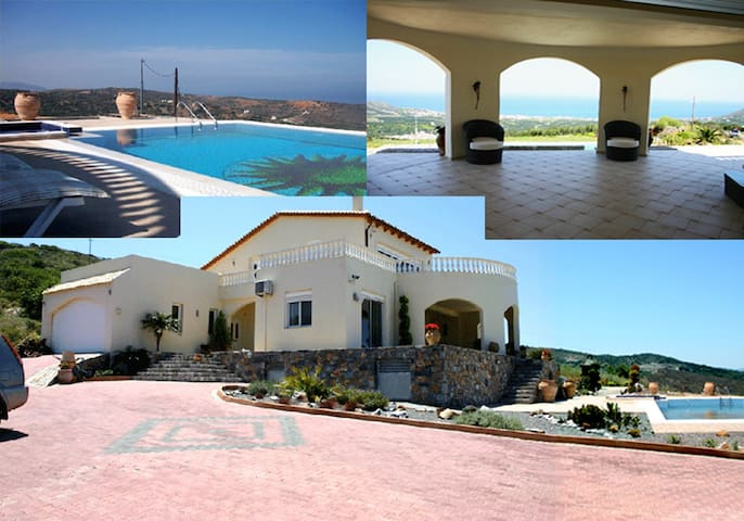 Villa Orianna with Private Pool - Milatos - Villa