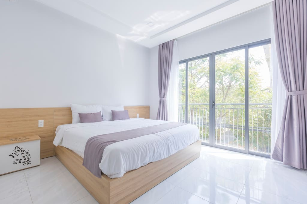 Bedroom  Large Double Bed Size
