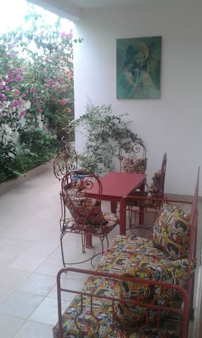 Belle chambre spacieuse ventilée à Toubab Dialaw - Toubab Dialao