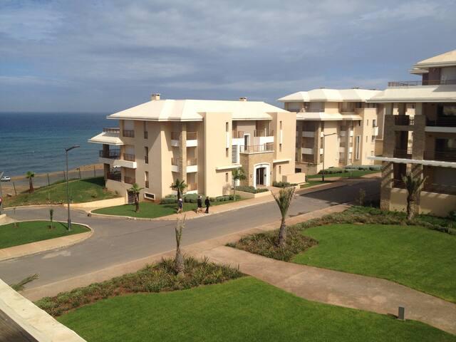 Bel appart vue sur mer Prestigia Plage Des Nations - Rabat - Apartment