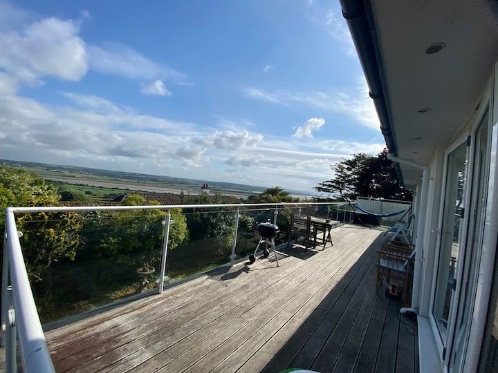 North Devon House With Stunning Far Reaching Views