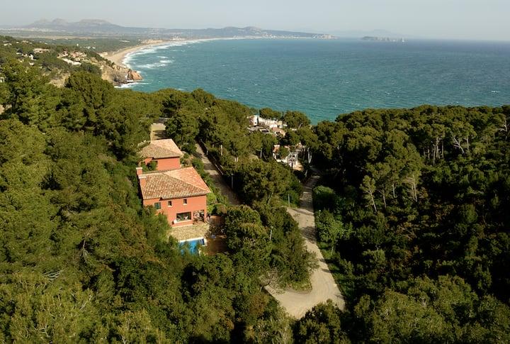 Comunidad de 4 casas con piscina Sa Riera, Begur