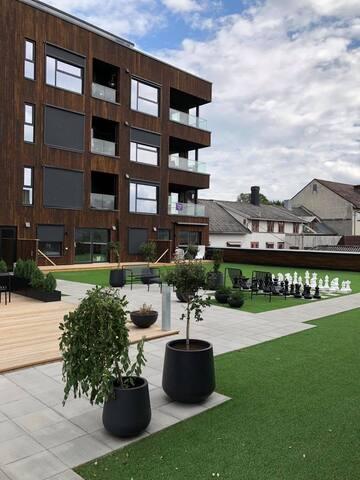 Supersentral ny 2-roms i Tønsberg