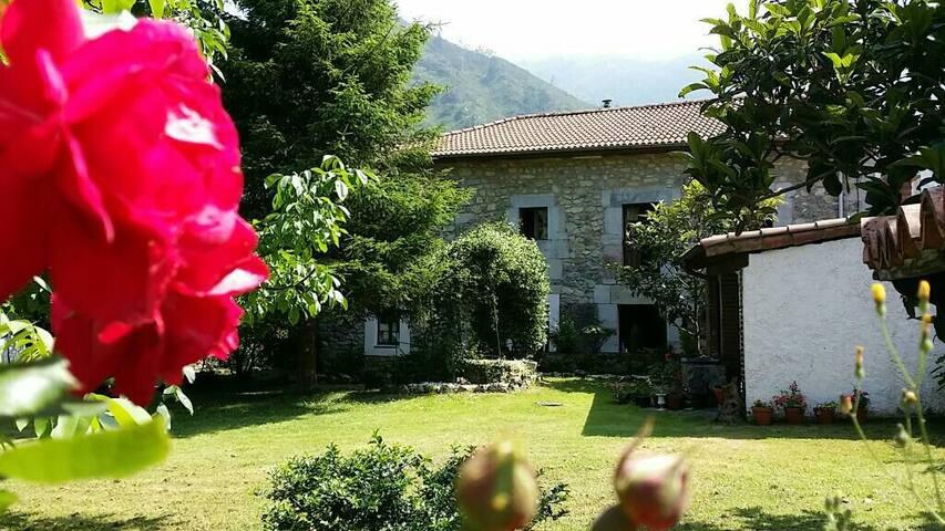 Casa rural centenaria Asturiana. - Cuevas - Hus