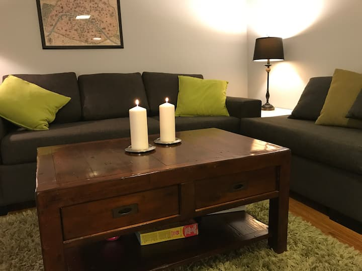 Private and spacious 1 bedroom Apartment