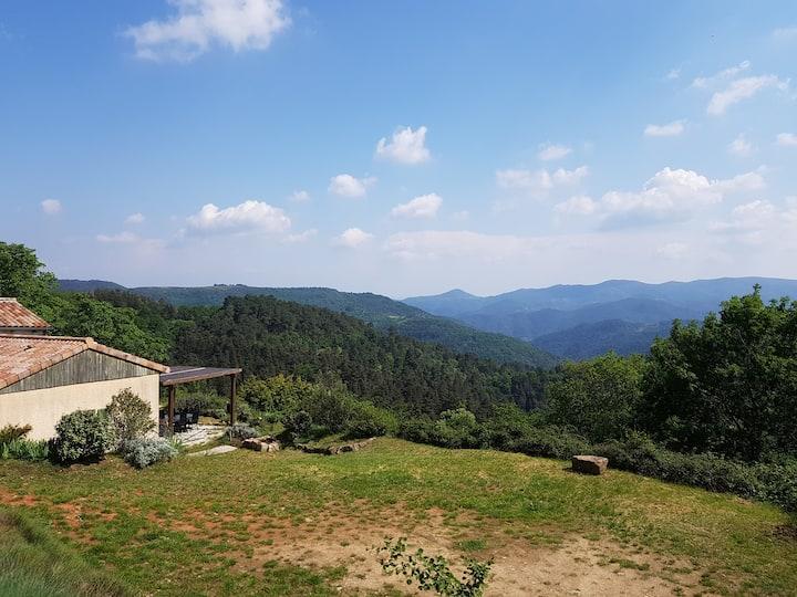 Gîte calme avec vue panoramique