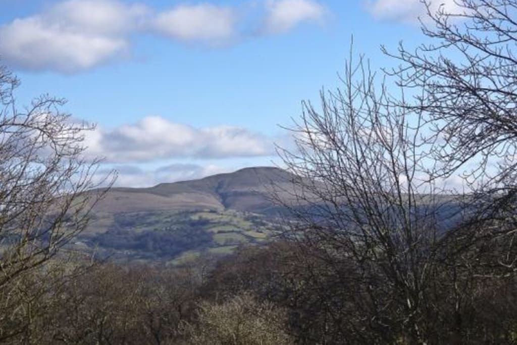 Incredible views of The Black Mountains.