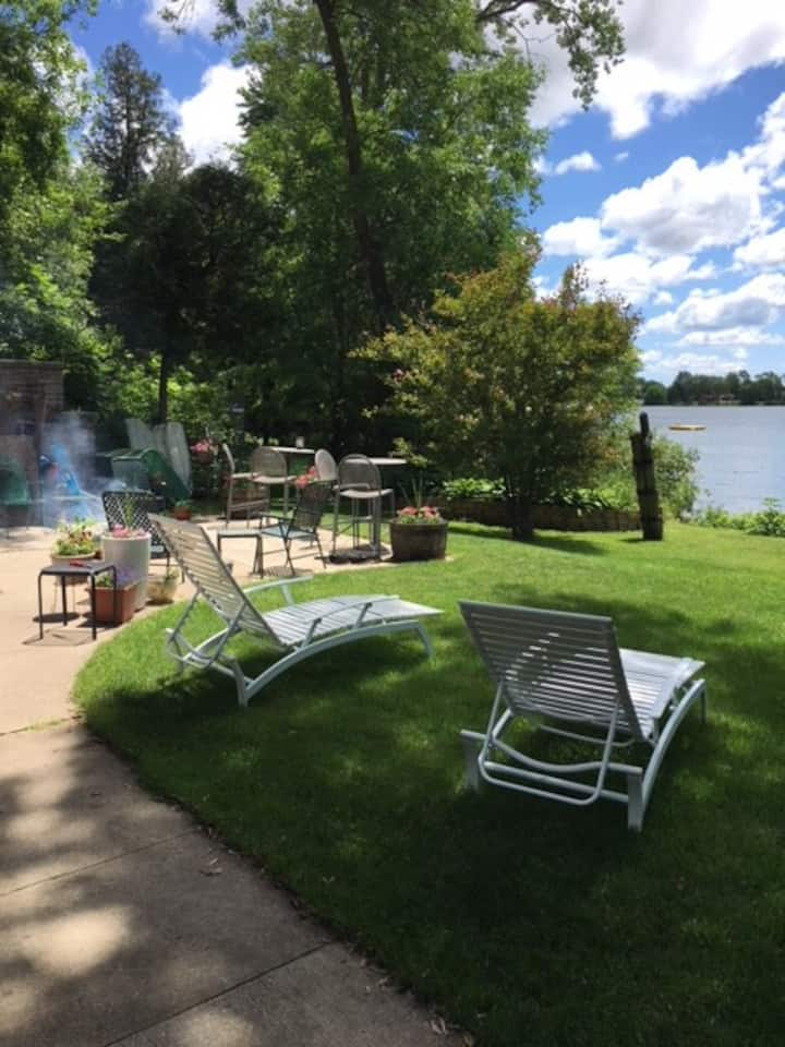 Year Round Home on English Lake in Manitowoc Cty