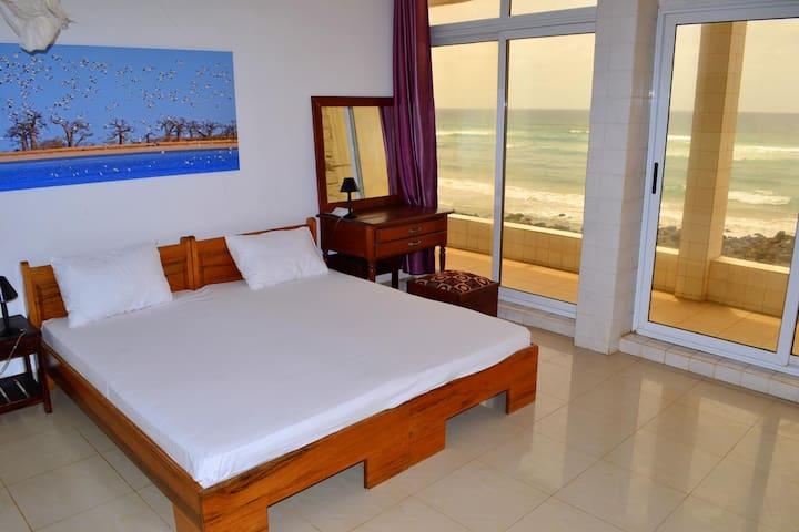 Superbe chambre avec vue panoramique sur la mer!!! - Dakar - Dom