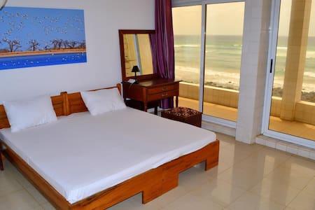 Superbe chambre avec vue panoramique sur la mer!!! - Dakar