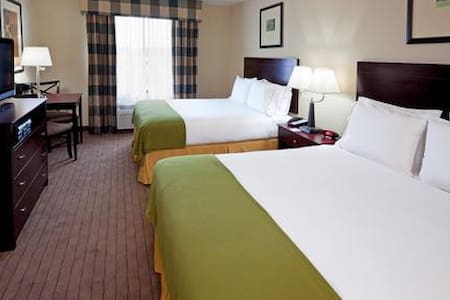Syracuse Holiday Inn Express room - Syracuse - Podkroví