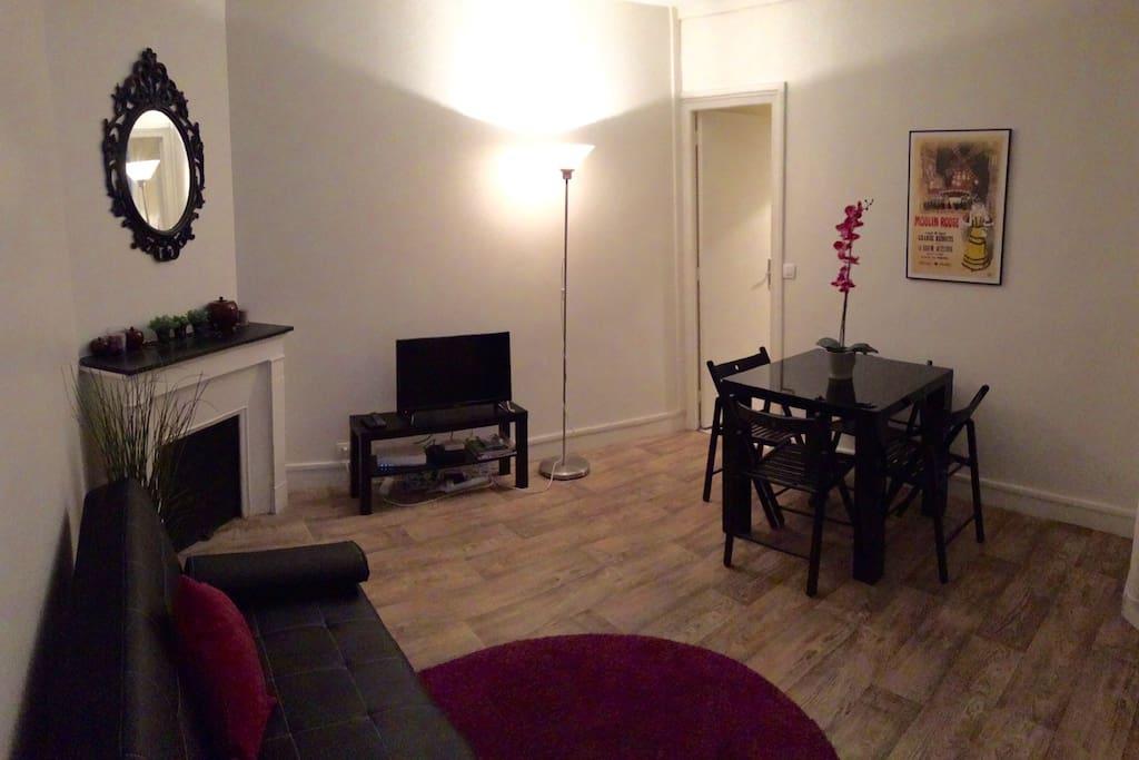 Appart refait neuf 5 min de notre dame appartements for Location appart meuble paris