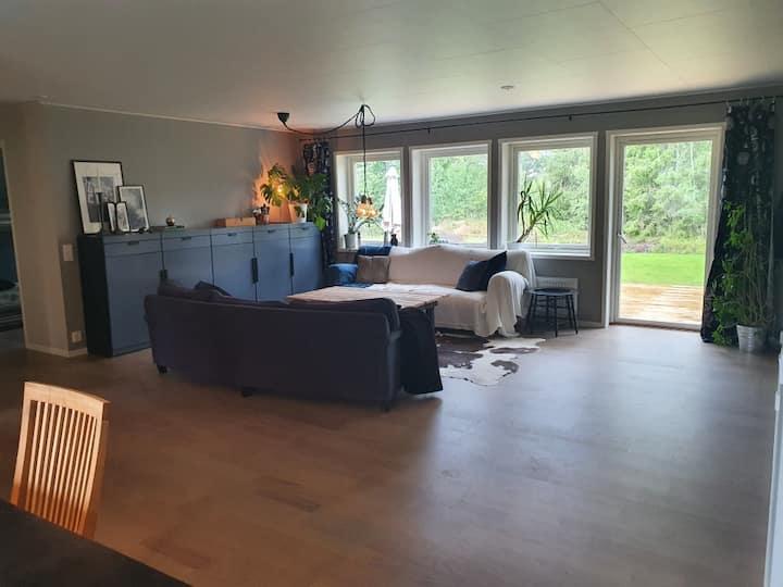 Nybyggt hus i Roslagen