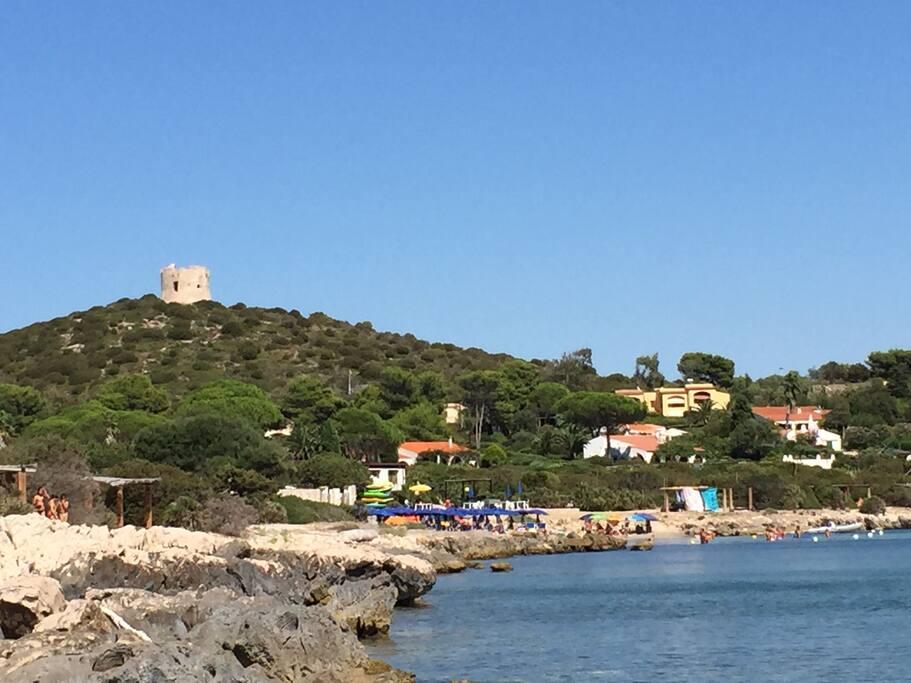 Il Villaggio visto dal mare