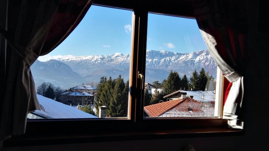 Accogliente casa a Trento * vista sulle Dolomiti