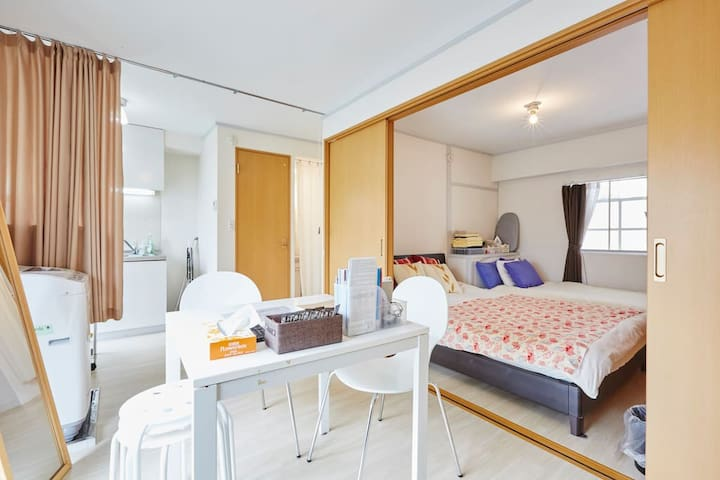 CENTERofTOKYO/GINZA Walk/SHINJUKU20min/wifi/7F - Chuo - Appartement