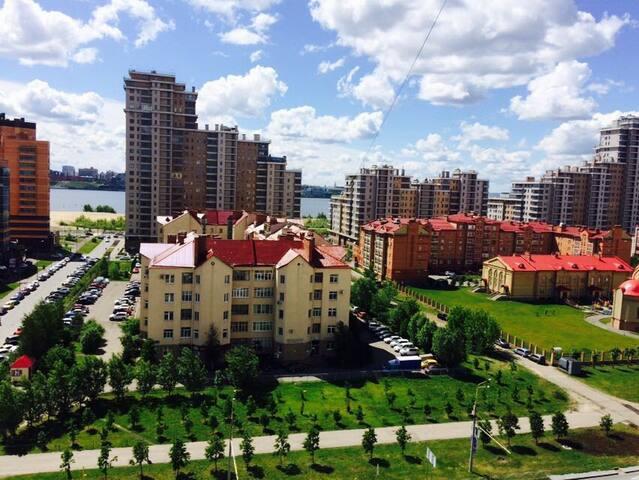 Квартира с красивым видом на город